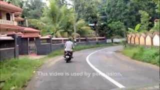 Driving Through Kerala, India
