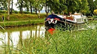 Hotel Barge Cruises on the Canal du Midi, France
