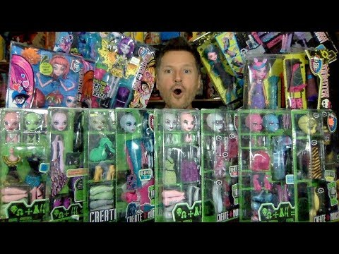 EPIC MONSTER HIGH CREATE A MONSTER COLLECTION