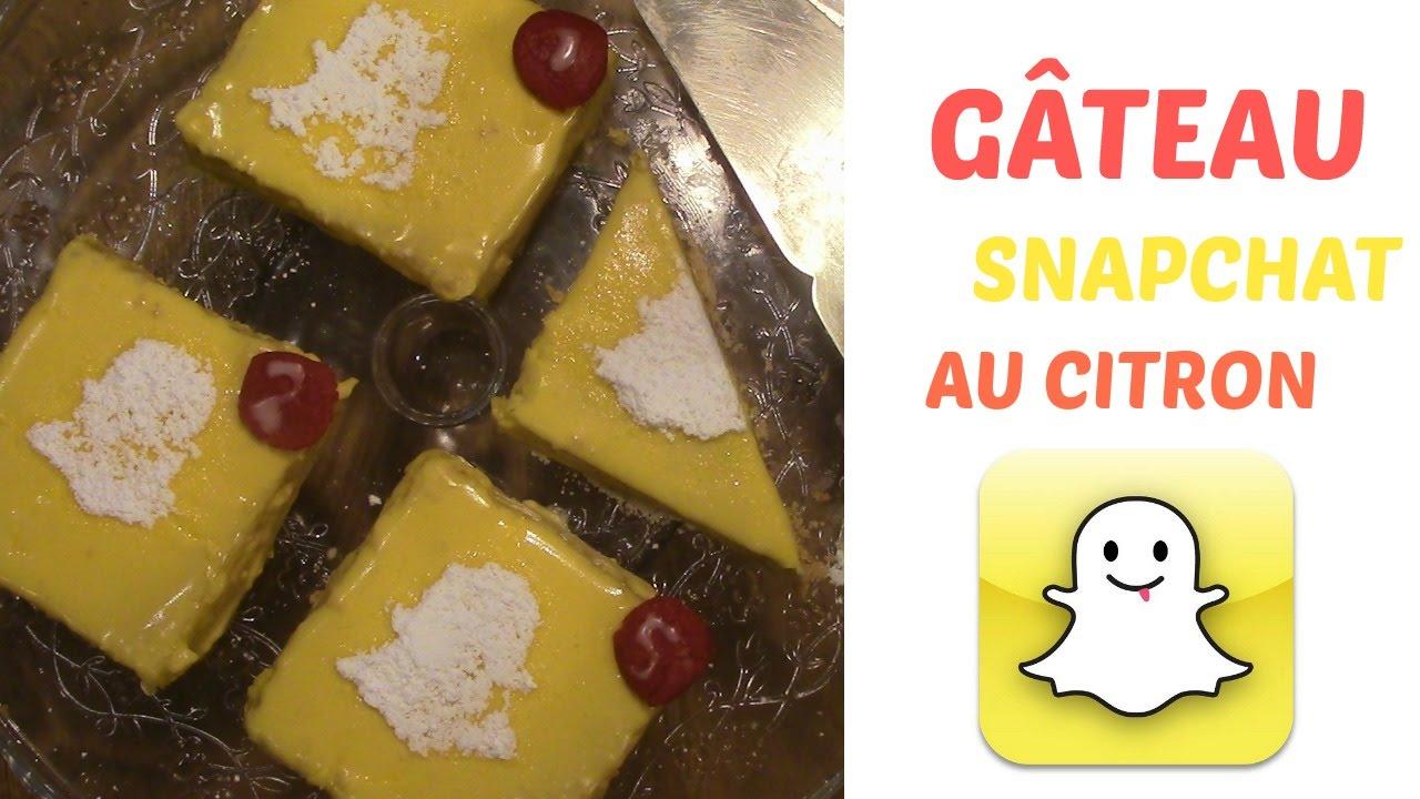 Très Gâteau Snapchat - YouTube EL44
