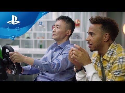 Gran Turismo Sport - Lewis Hamilton & GT Sport [PS4, deutsche Untertitel]