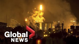1 dead, 1 missing after chemical plant explosion in Spain