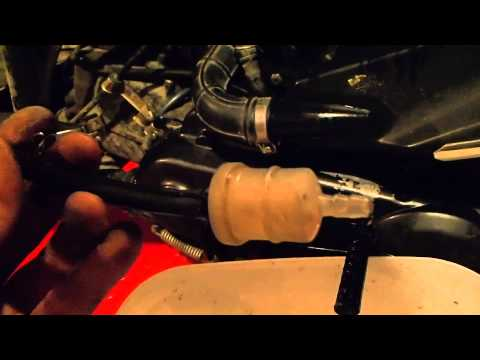 how to clean your scooter gas filter
