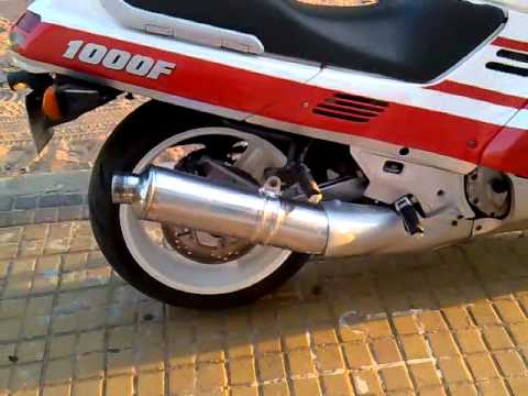 Honda Cbr 1000 1991 Mp4 Youtube