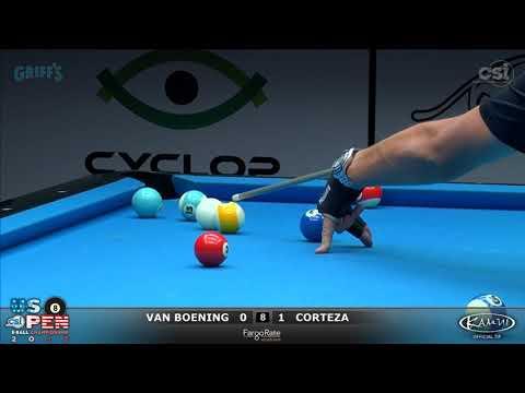 2017 US Open 8-Ball: Van Boening vs Corteza