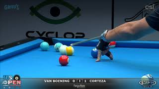2017 US Open 8-Ball: Van Boening vs Corteza