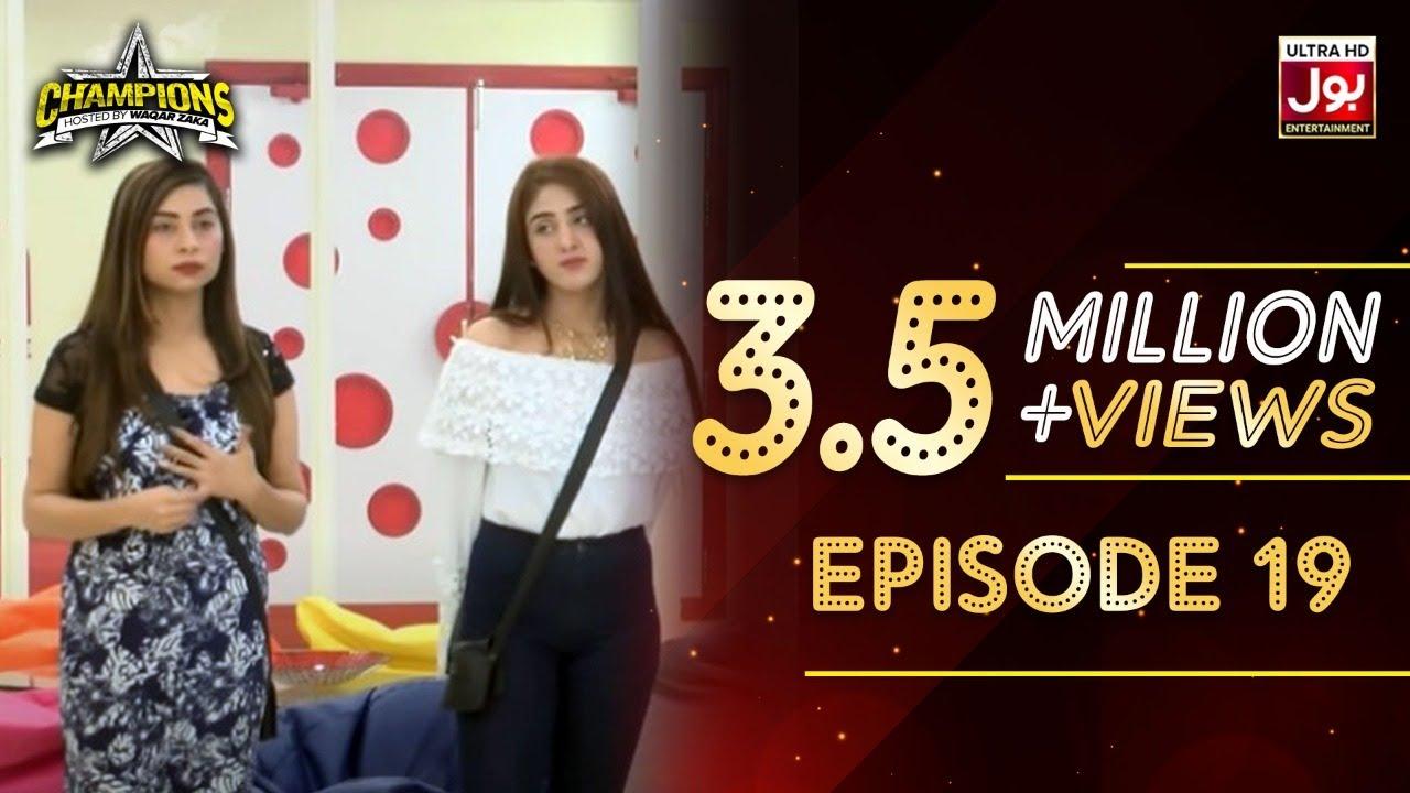 Champions With Waqar Zaka Episode 19 | Champions BOL House | Waqar Zaka Show