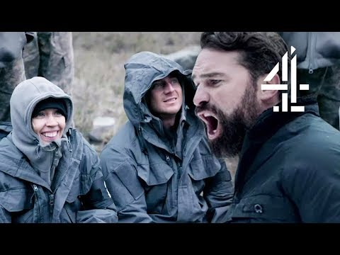 """Sick of Her Laughing All the Time"" Ant PUNISHES Recruits for LAUGHING! 