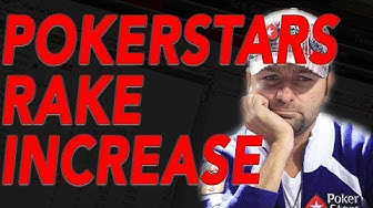 POKERSTARS RAISES RAKE AGAIN!! (2018)