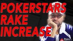POKERSTARS RAISES RAKE AGAIN!! (2018)