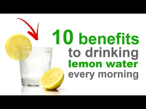 10 Benefits to Drinking Warm Lemon Water Every Morning