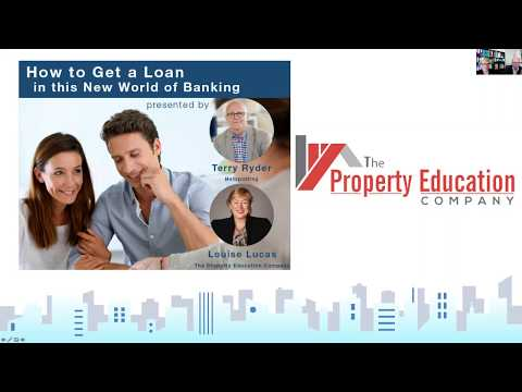 Webinar - How to Get a Loan in this New World of Banking