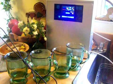 The Bawell Fountain Water Ionizer - Alkaline Water Plus