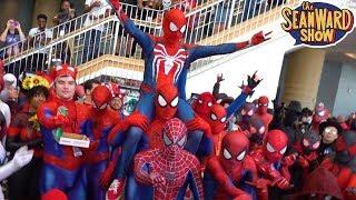 SPIDER-MAN: Spider-Verse Megacon Mayhem!!! Comic Con Invasion - The Sean Ward Show