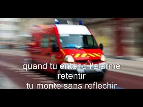 poème de pompier