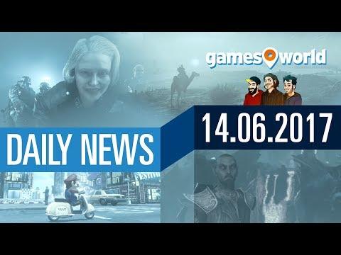 E3 News: Mario Odyssey, Wolfenstein 2, Elder Scrolls 6 -  Gamesworld Daily News - 14.06.2017