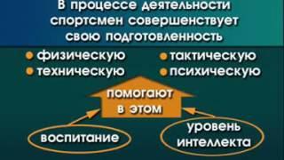 видео Формирование общей теории подготовки спортсменов