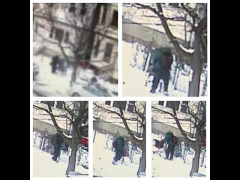 Police in Newark are seeking the public's help identifying a man they say may have sparked a house fire that sent one person to the hospital and displaced a family last week.