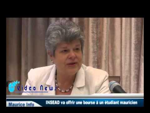 Insead offre une bourse de 10,000 euros