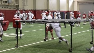 scenes from alabama s practice lsu week