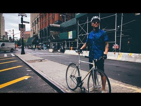 TRACK BIKES In NYC 🇺🇸 Aka: RoughCut: