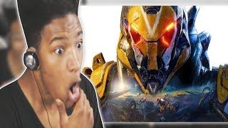 ETIKA REACTS TO ANTHEM OFFICIAL CINEMATIC TRAILER & GAMEPLAY | ETIKA STREAM HIGHLIGHT