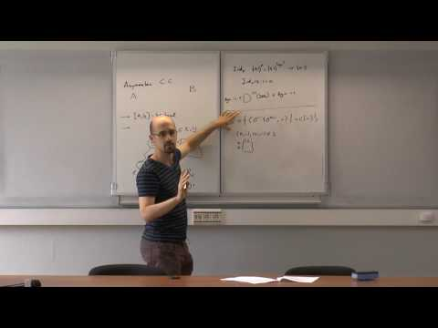 "Bruno Loff. Mini-course ""Asymmetric Communication Complexity"" Part 1"