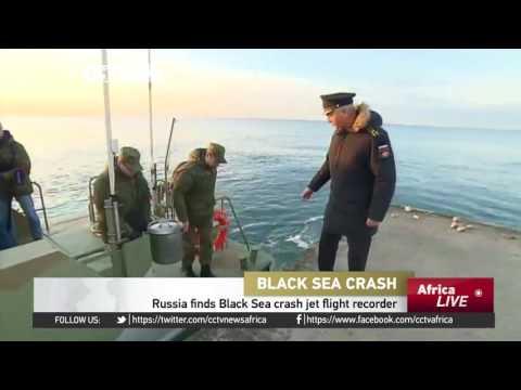 Russia finds Black Sea crash jet flight recorder