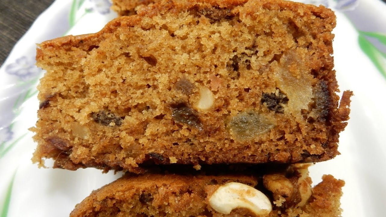 Eggless Christmas Fruit Cake Recipe The Calcutta Girl Indian