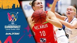 Estonia v Belarus - Full Game - FIBA Women's EuroBasket 2019 - Qualifiers 2019