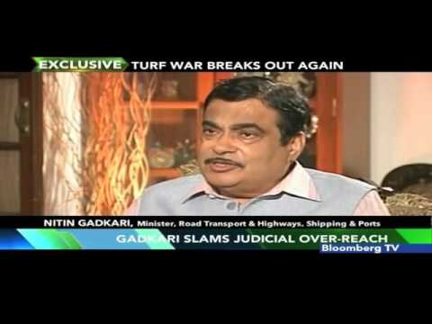 Gadkari Slams Judicial Over-Reach