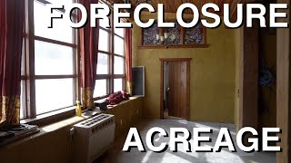 New Foreclosure Acreage (Hunker Town) Tour