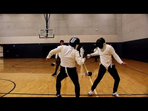Fencing bout #13