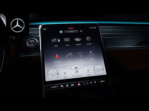 The New S-Class   MBUX