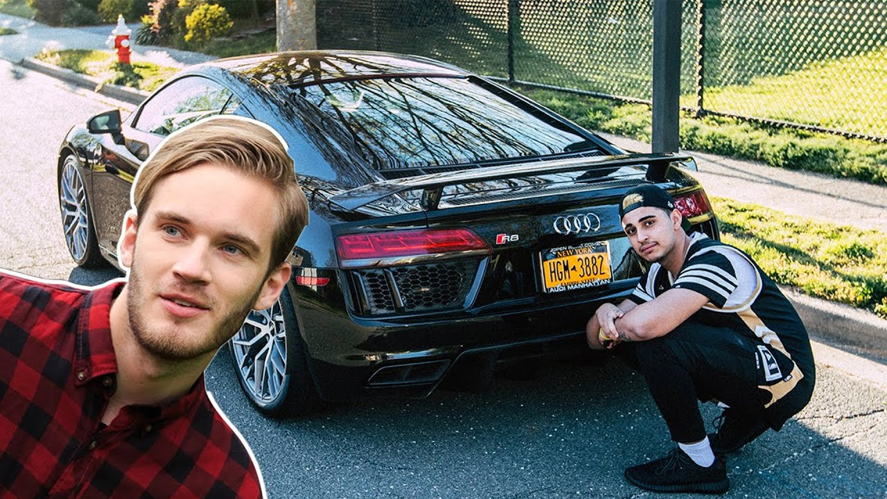 Top 10 MOST EXPENSIVE Youtuber Supercars - YouTube