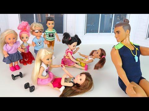 Конец Карантину, Всем Пора Худеть! Мультики Барби Про Школу Игры для девочек IkuklaTV