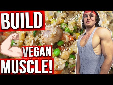 What I Eat EVERY Day To Gain Muscle   VEGAN MUSCLE PLAN