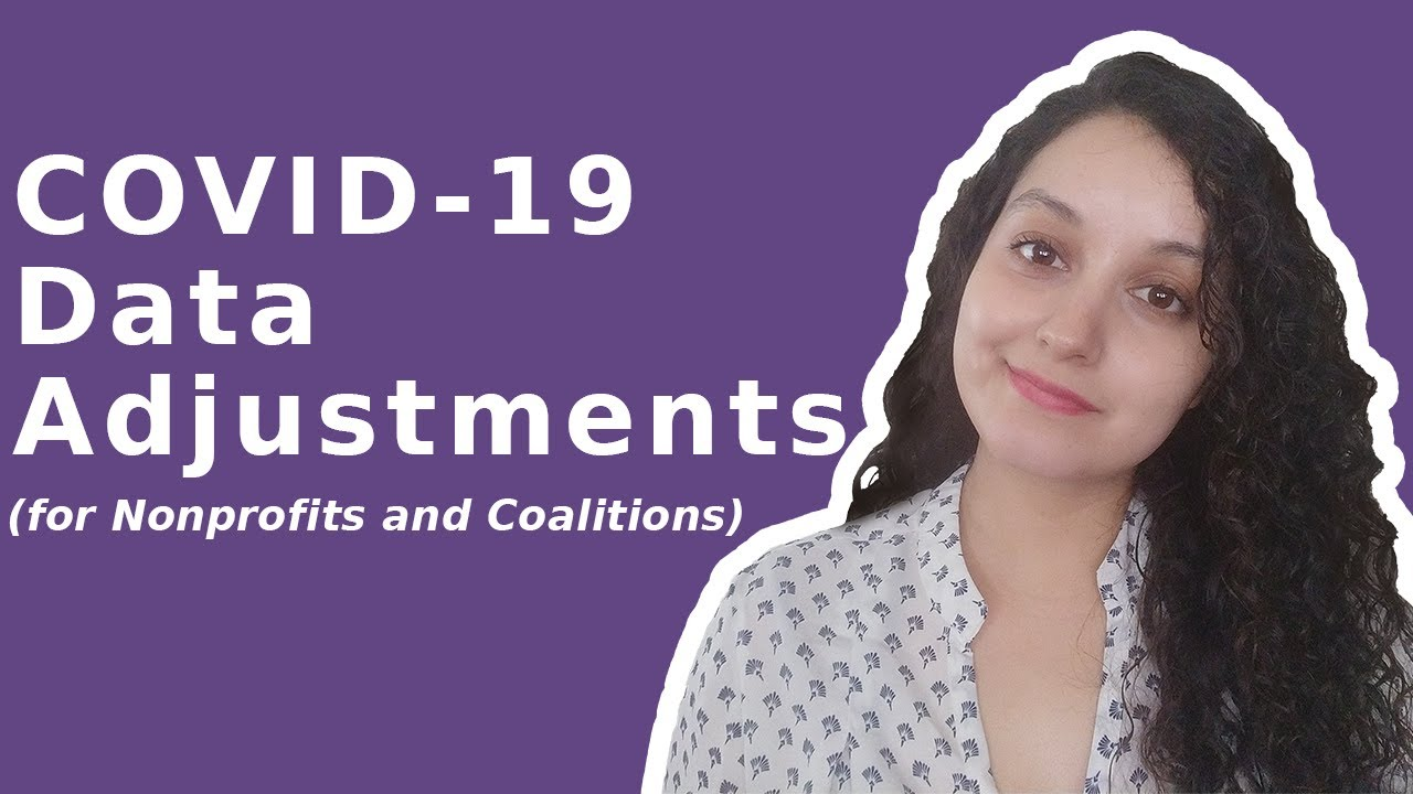 Nonprofit Data Adjustments to COVID-19