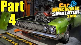 Car Mechanic Simulator 2015 Gameplay Playthrough Part 4 - General Gear Controls (PC)
