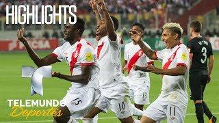 Highlights: Perú 2 – Nueva Zelanda 0 | Rumbo al Mundial 2018 | Telemundo Deportes