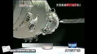 神舟八號與天宮一號分離後出現UFO在2.20分鐘-大家研究者看看 [ 號外]
