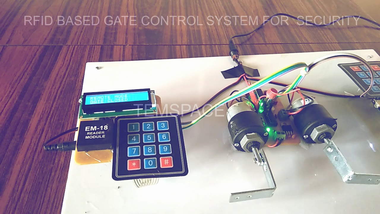 Download RFID BASED GATE CONTROL SYSTEM FOR SECURITY