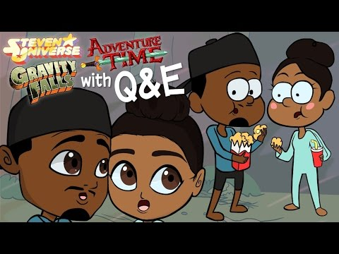 Drawing Steven Universe, Gravity Falls & Adventure Time Style with Q&E