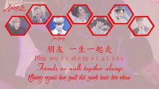 Peng You - iKON(Lyrics Chi, Rom, Eng, Vie)