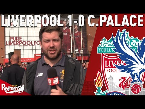 Anfield Is Where The Real Football Happens! | Liverpool v Crystal Palace 1-0 | Paul's Match Reaction