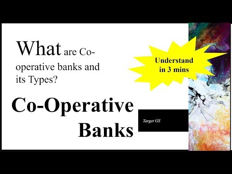 Cooperative Banks and types ... understand in less than 3mins