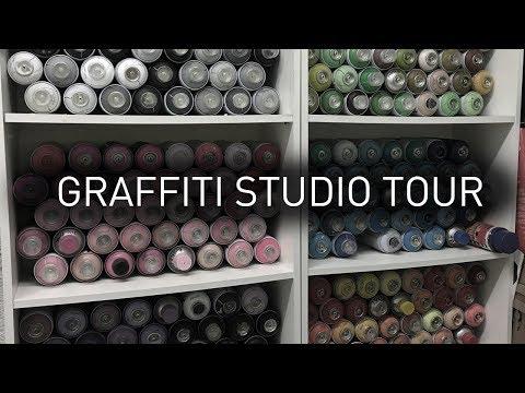 MY GRAFFITI STUDIO TOUR