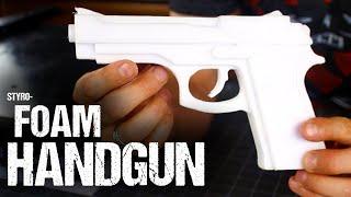 How To Make A Styrofoam Handgun
