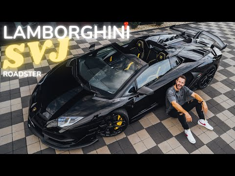 Lamborghini SVJ Roadster the loudest car on our channel / The Supercar Diaries