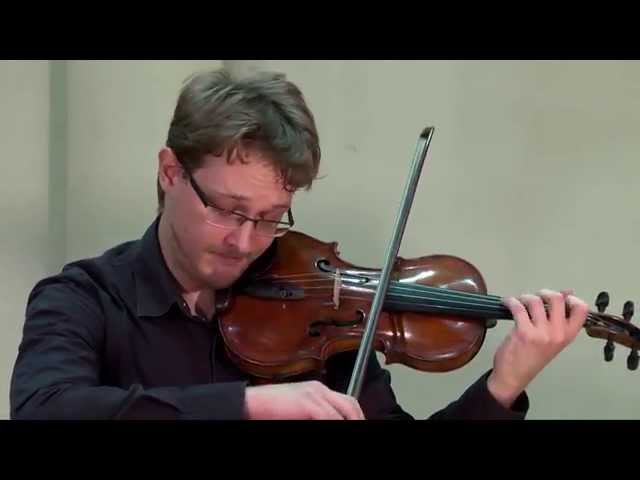 Sibelius Violin Concerto in D minor| Dmitry Daniel Askerov Violin, Evgeniya Lakernik Piano